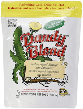 dandelion tea called dandy blend