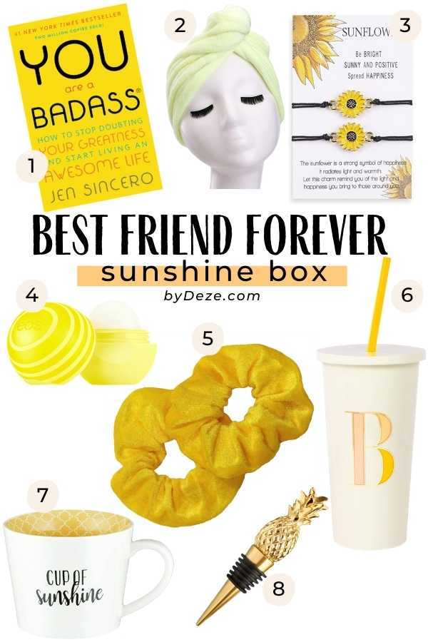 happiness box for best friends