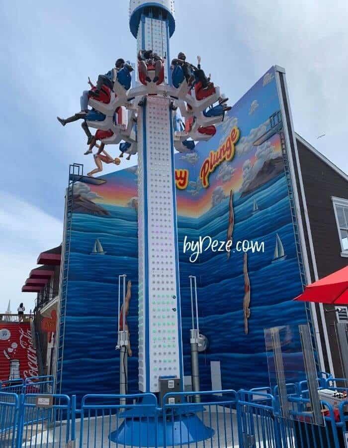 amusement ride pier 39 san francisco family trip