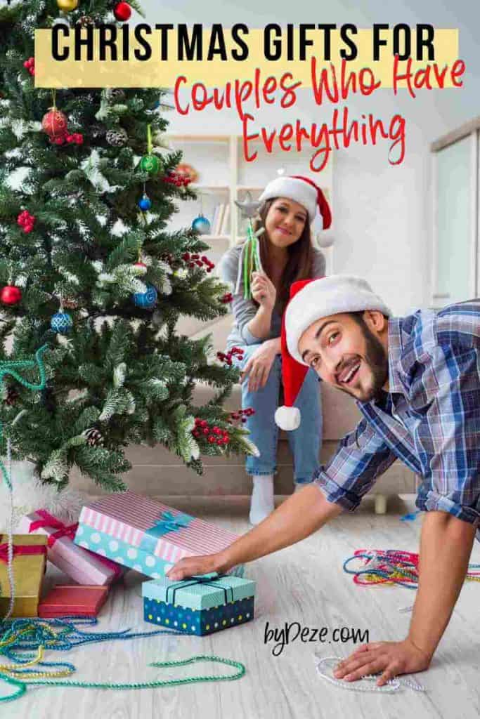christmas gifts for couples who have everything