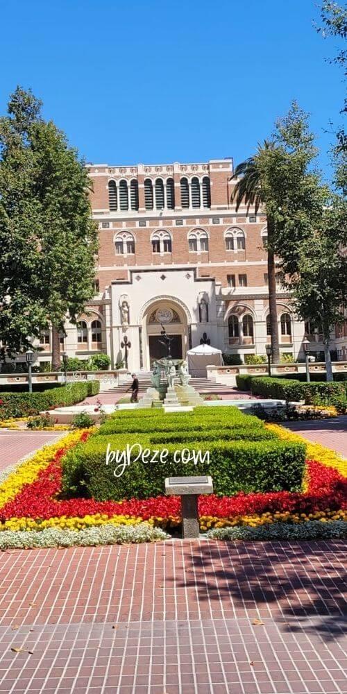 USC campus byDeze.com