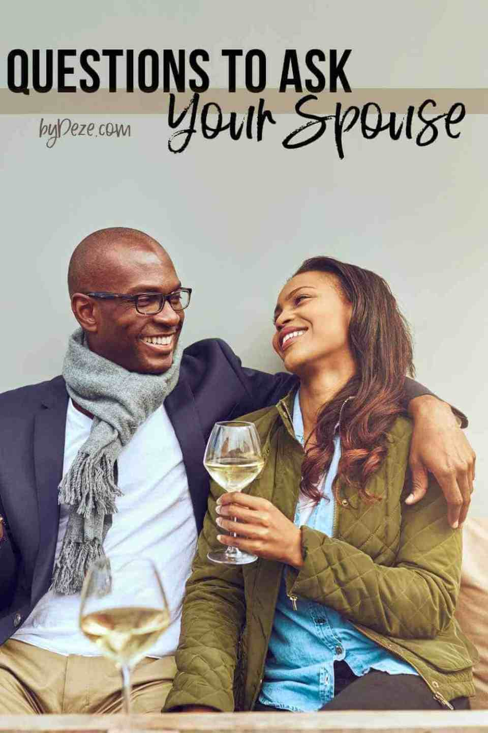 questions to ask your spouse during a date