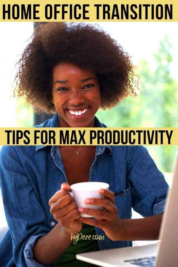 transition to work from home - tips for better focus productivity