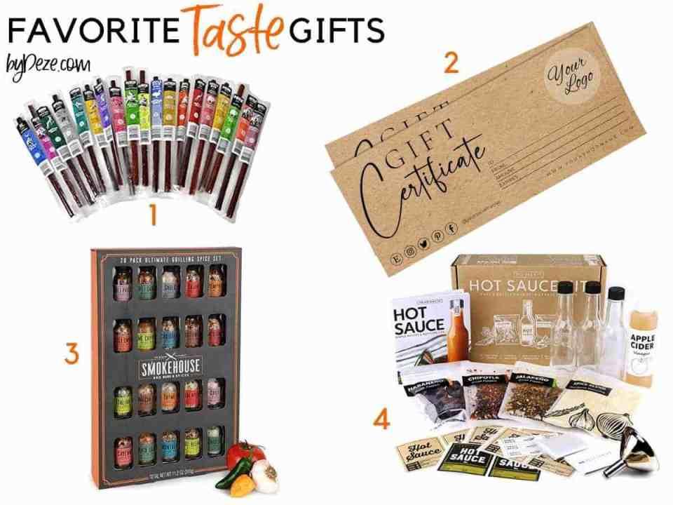 favorite taste gifts