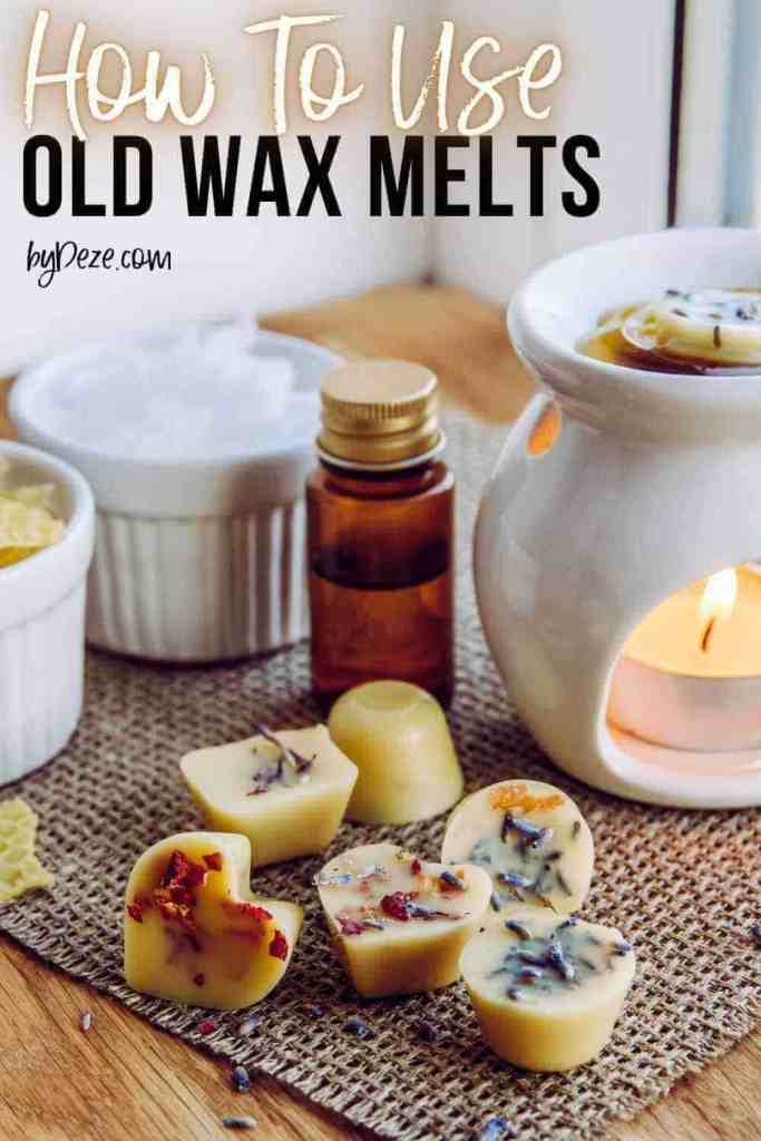 what to do with old wax melts