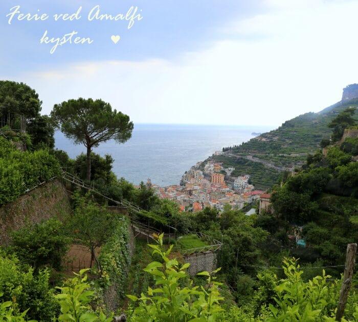 amalfikysten, Minori, Capri, Pompei, rejseguide