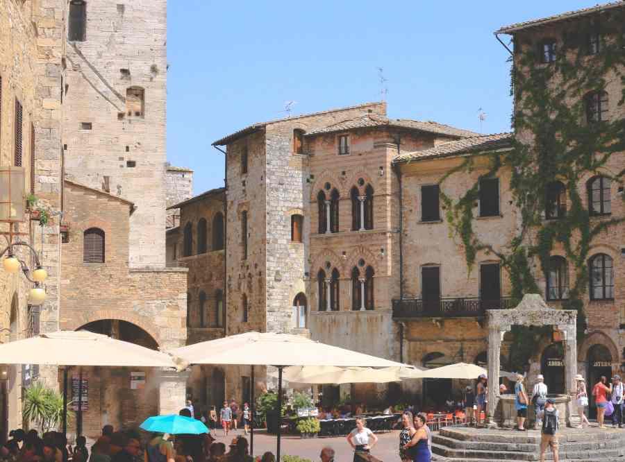 San Gimignano, Toscana, www.bydianawi.com