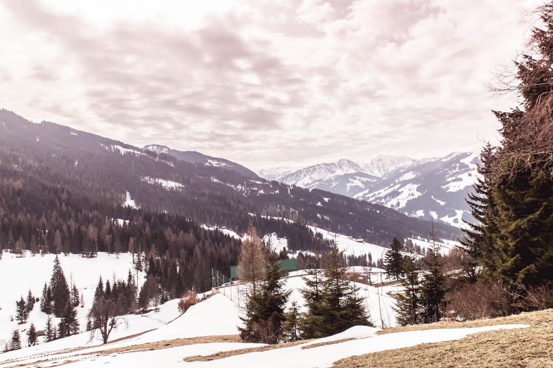 skiferie i marts i wagrain, østrig