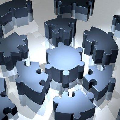 Math Puzzle Pieces