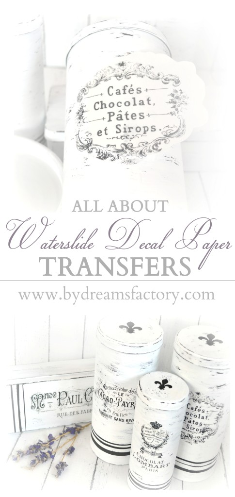 All about waterslide decal paper