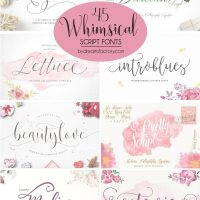 45 Whimsical Script Fonts