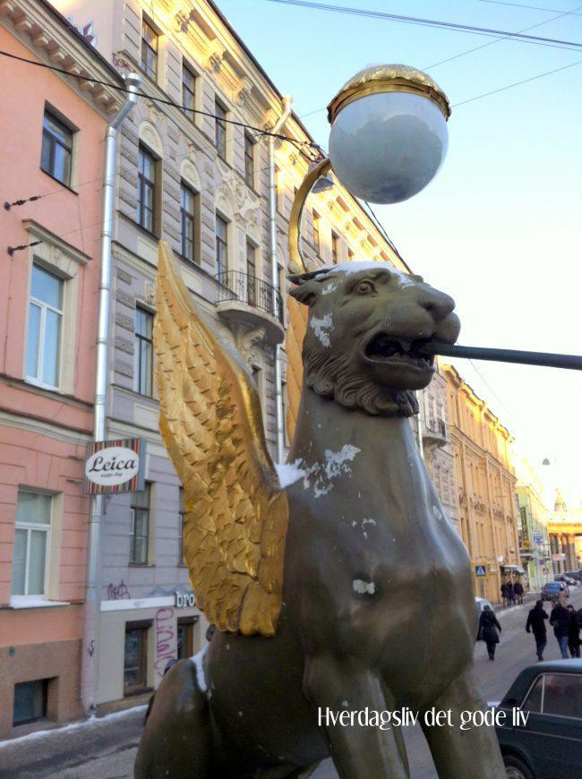 Matopplevelser, litt shopping og hvordan finne fram i St.Petersburg