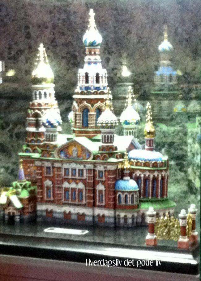 St. Petersburg - den fantastiske Spas Na Krovi- kirken