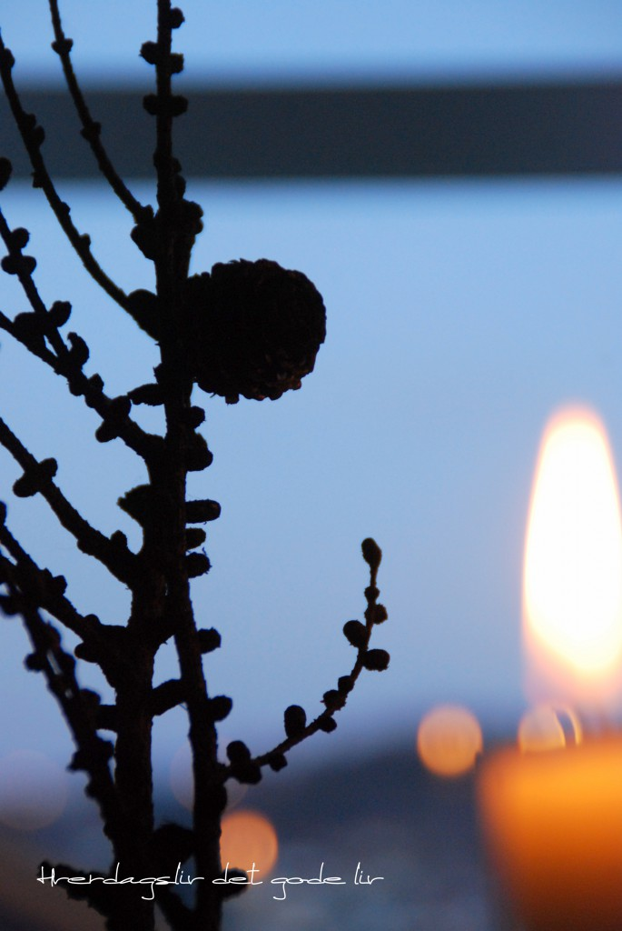 Blåtimen Christmas night