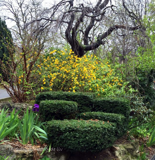 Den bortgjemte parken – Jardins du Trocadero