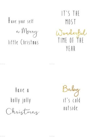 Julekortbokstaver