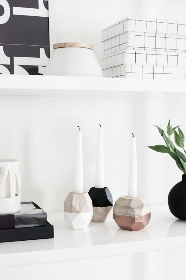 DIY-Geometric-Candle-Holders-3