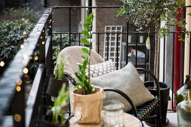 Vår på balkongen