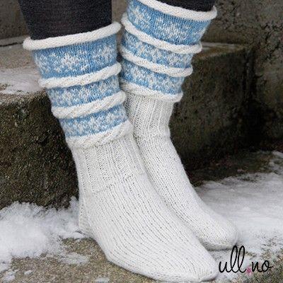 Sokkestrikk til kalde dager