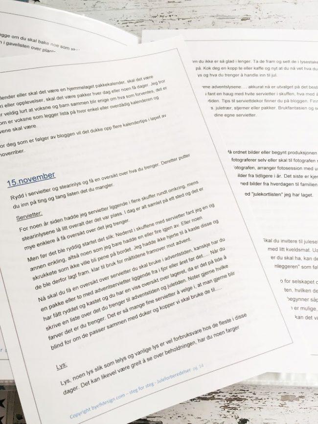 Førjulsboken - en trinn for trinn guide til en stressfri førjulstid
