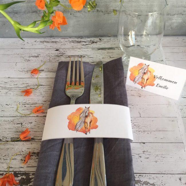 Bordkortene som gir farge og stil til selskapet ditt