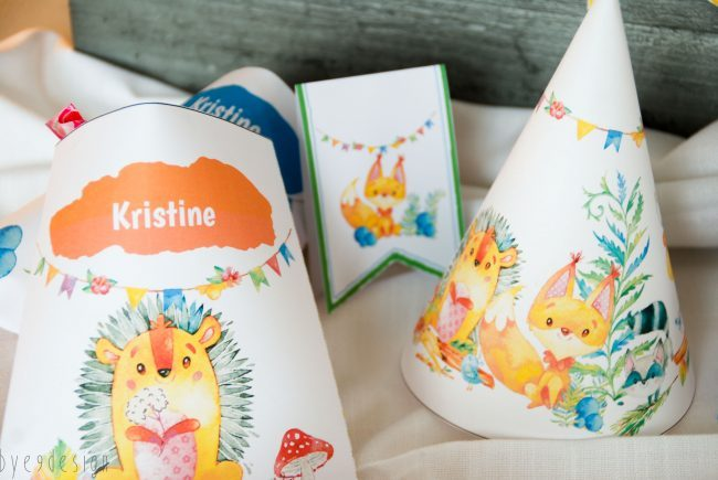 Den store eventyrpakken til barneselskapet - massevis av pynt