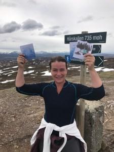 Halvveis i 100 dagers utfordringen - feiret på topptur