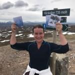 Halvveis i 100 dagers utfordringen – feiret med topptur