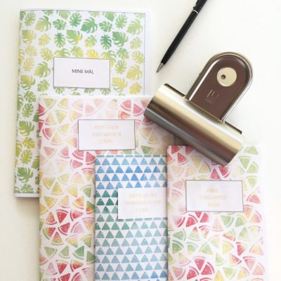 Slik lager du enkle og personlige notatbøker selv