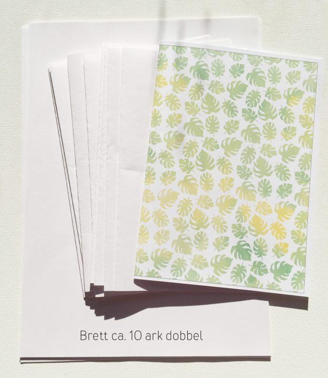 Slik lager du enkle notatbøker selv