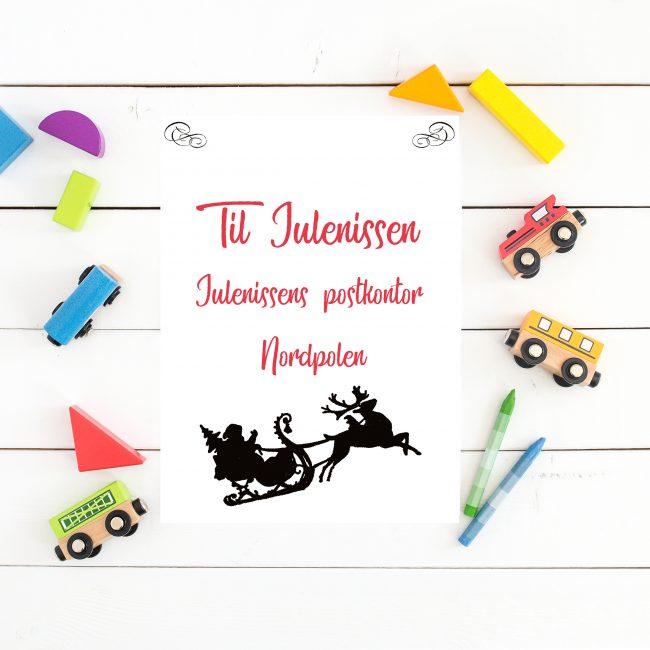 Skriv ønskeliste til julenissen