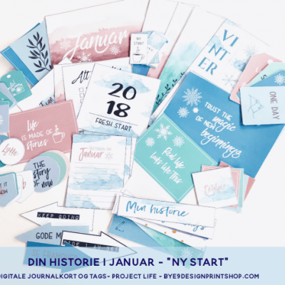 """""""Ny start"""" med Project life og lommescrapping"""