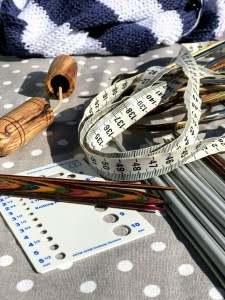 Hold oversikt over strikkepinnene med strikkejournalen