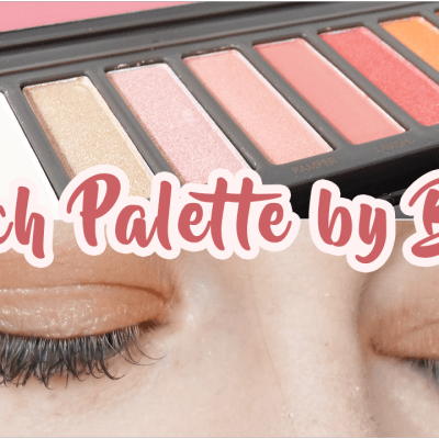 Palette Peach by BYS 🍑 Top ou flop ?