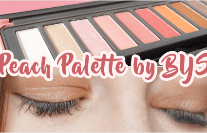 Palette Peach by BYS 🍑 Top ou flop ?