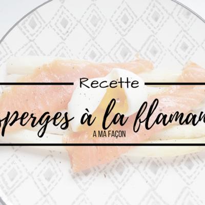RECETTE ♢Asperges à la flamande, revisite d'un plat typiquement belge