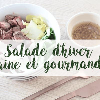 Une salade d'hiver saine et gourmande