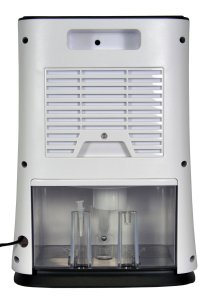 futura 2l mini dehumidifier review water tank rear container byemould damp mould condensation