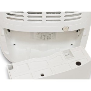 meaco 12l low energy dehumidifier water tank continuous drainage option review byemould
