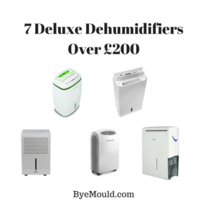 7 Deluxe Dehumidifiers Over £200