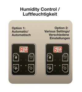 duracraft-tec16e-dehumidifier-review-control-panel-fan-speed-timer-humidity-mould-fungi