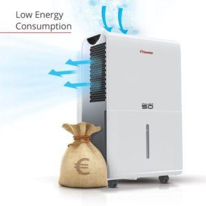 Inventor 50L dehumidifier dehmudifier low energy consumption save money