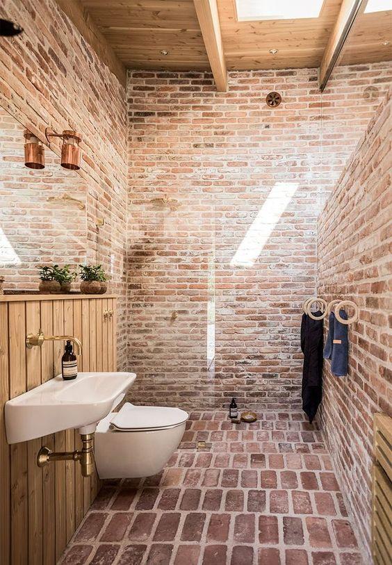 deco une salle de bain nature by emy