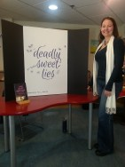 We revealed the title for book 2 at Hooray For Books: Deadly Sweet Lies