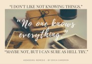 Nemesis-DontLikeNotKnowing