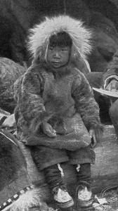 an anorak (eskimo parka)