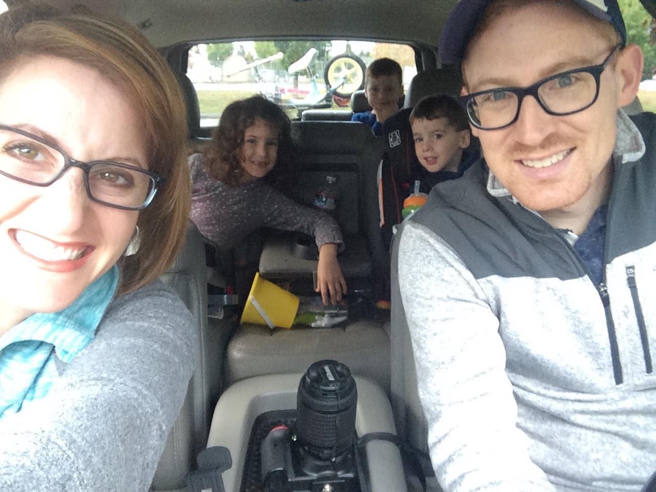 Family in Car copy