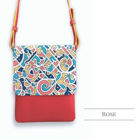 Loka Calligraffiti Cross Body Bag