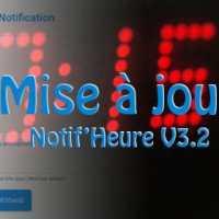 Notif'Heure V3.2 ( DIY : Horloge connectée )