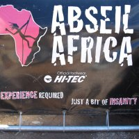 AdS: Abseiling in Cape Town